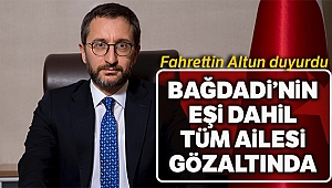 'Türkiye, Bağdadi'nin karısı da dahil olmak üzere aile üyelerini yeni gözaltına aldı'