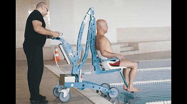 Aryom Koru'da Havuzlarda Engeller Kalkıyor