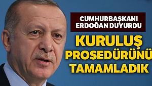 Cumhurbaşkanı Erdoğan: 'İstanbul Tahkim Merkezi'nin kuruluş prosedürlerini tamamladık'