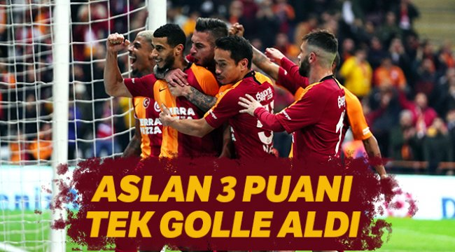 Galatasaray 1-0 Alanyaspor