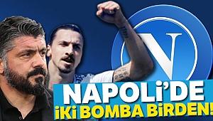 Gattuso ile Ibrahimoviç birlikte Napoli'ye