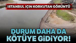 İstanbul'da barajlardaki su seviyesi alarm vermeye devam ediyor