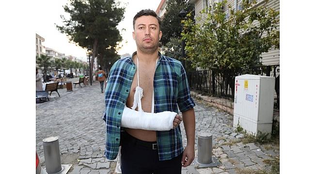 İzmir'de belediyenin basın çalışanlarına saldırı