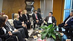 Susmuş ve ekibinden Başkan Sandal'a ziyaret