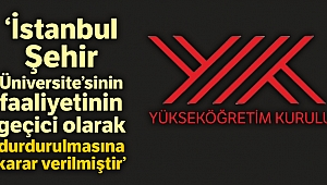 YÖK, Şehir Üniversitesi'nin Marmara Üniversitesi'ne devrine karar verdi