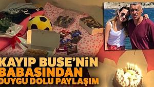 1 yıldır kayıp olan Kader Buse'nin doğum gününde acılı babadan yürek burkan kutlama