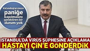 Bakan Koca 'koronavirüs' açıklaması: 'Şüpheli bir vakaya rastlanmadı'
