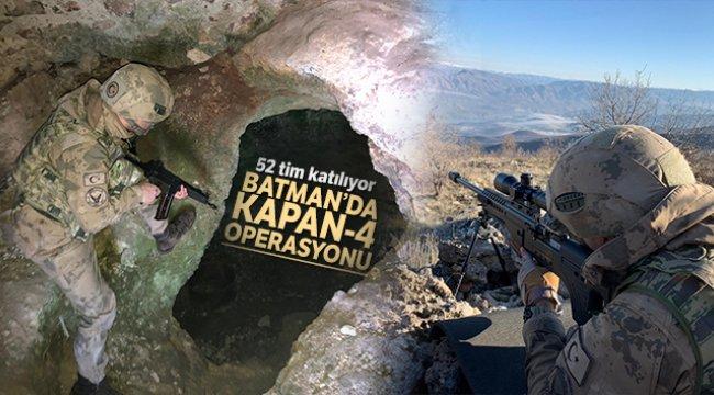 Batman'da, KAPAN-4 MAVA operasyonu başlatıldı