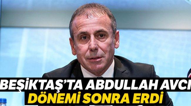 Beşiktaş'ta Teknik Direktör Abdullah Avcı ile yollar ayrıldı