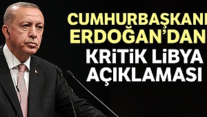 Cumhurbaşkanı Erdoğan: 'Libya'da ateşkesin yakın zamanda imzalanmasını temenni ediyorum'