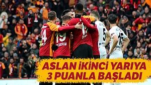Denizlispor,Galatasaray'a Direnemedi