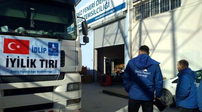 İzmir'den İdlib'e yardım eli