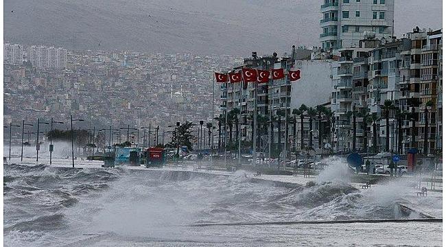 İzmir ve Balıkesir'de fırtına bekleniyor