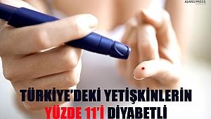 Türkiye'deki Yetişkinlerin Yüzde 11'İ Diyabetli