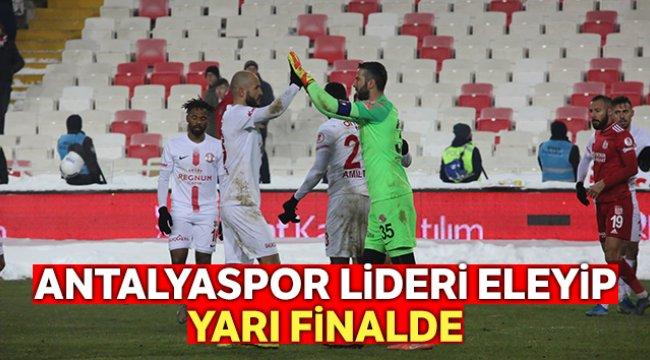 Antalyaspor yarı finalde