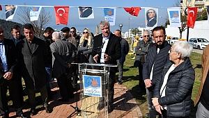 Atatürk Heykeli yeni yerine çok yakıştı!