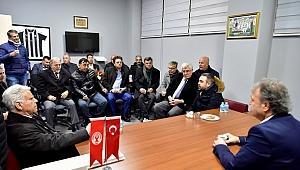Bornova'da amatörlere destek buluşması