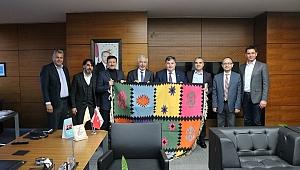 Dağ,Bakırçay Üniversitesini ziyaret etti
