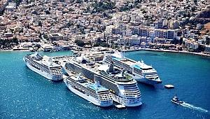 Dev yolcu gemileri Akdeniz'e yöneldi
