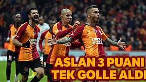 Galatasaray Penaltıyla 3 puanı kurtardı