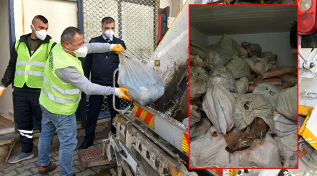 İzmir'deki baskında kaçak sakatat ve pişmiş kelle ele geçirildi