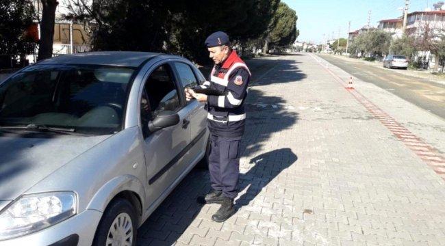 Jandarmadan İzmir genelinde trafik uygulaması