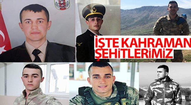 Son dakika: İdlib'deki hain saldırıda şehit olan askerlerin isimleri ve memleketleri belli oldu!