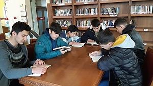 Ülkü Ocakları Kütüphanelerde
