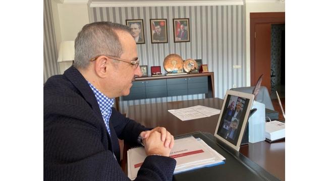CHP, MHP ve İYİ Parti İl Başkanları 'Sağlık'ta buluştu.
