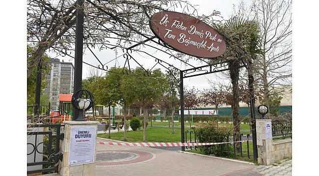 Çocuk Parkları geçici olarak kapatıldı