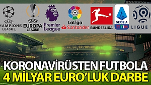 Futbolun korona virüs kaybı 4 milyar Euro