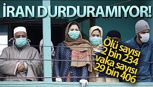 İran'da korona virüsü nedeniyle ölü sayısı 2 bin 234'e yükseldi