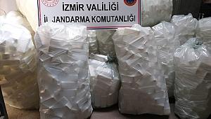 İzmir'de 2 bin 500 litre sahte dezenfektan ele geçirildi