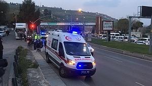 İzmir'de Ambülans Kaçırıldı