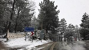 İzmir'e Mart ayında kar sürprizi