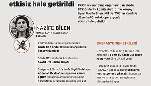 PKK Üst Düzey Yöneticisi Yakalandı