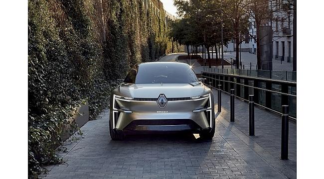 Renault'nun yeni konsept modeli MORPHOZ