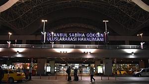 Sabiha Gökçen Havalimanı'ndan uçuşlar geçici süreyle durduruldu