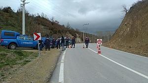 Simav'da bir köy karantinaya alındı