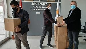 AK Parti Karabağlar'dan bin 500 aileye yardım