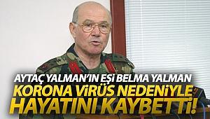Aytaç Yalman'ın eşi Belma Yalman, korona virüs nedeniyle hayatını kaybetti