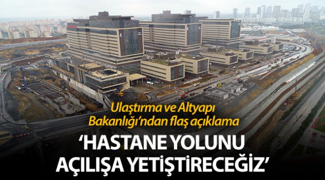Başakşehir İkitelli Şehir Hastanesi yolunun yapımına başlandı