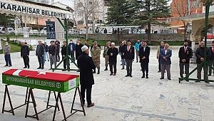 Kıbrıs gazisi, Afyonkarahisar'da son yolculuğuna uğurlandı