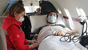 Rusya'daki akciğer hastası tıp öğrencisi ambulans uçakla Türkiye'ye getirildi