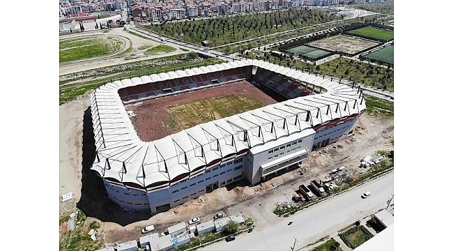 Yeni Turgutlu Stadı inşaatında sona geliniyor