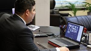 Başkan Kılıç'tan online basın toplantısı