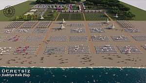 'Beş yıldızlı ücretsiz halk plajları' serisine devam ediyor