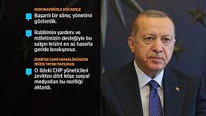 Erdoğan'dan Korona Uyarısı