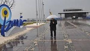 İzmir için kuvvetli sağanak ve dolu uyarısı