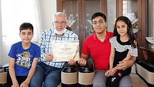 Ödemiş'te 19 Mayıs şiir ve resim yarışmasının ödülleri verildi